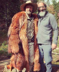 Chaos Walking Mayor Prentiss Fur Long Coat