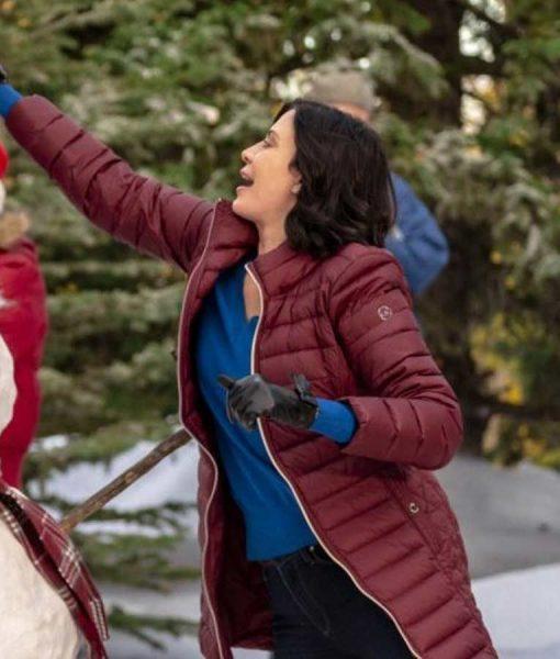 Meet Me at Christmas Joan Puffer Coat