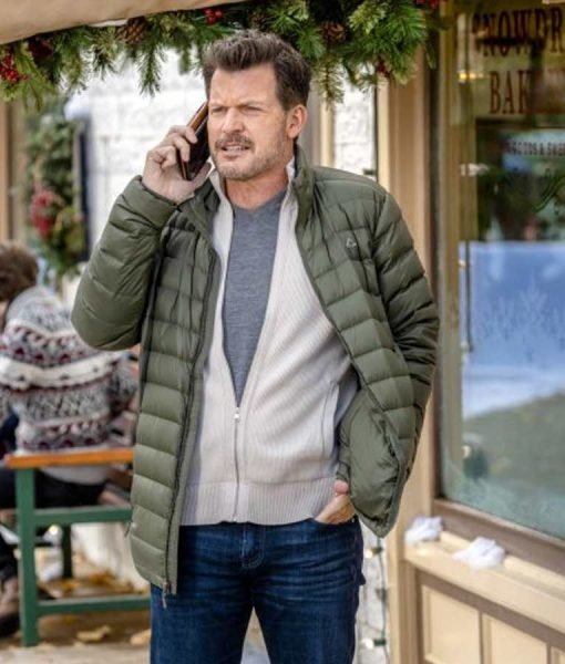 Meet Me at Christmas Mark Deklin Puffer Jacket