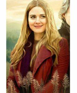 Melinda Monroe Virgin River S02 Red Leather Jacket