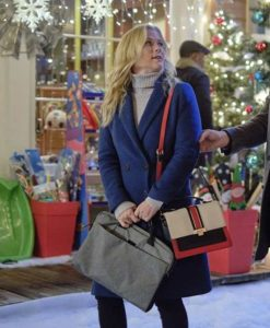 Good Morning Christmas Alison Sweeney Blue Coat