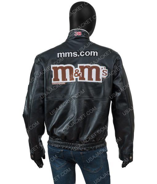 M&ms Leather Black Jacket