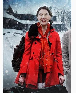 Natalie Clark Lost at Christmas Jen Red Coat