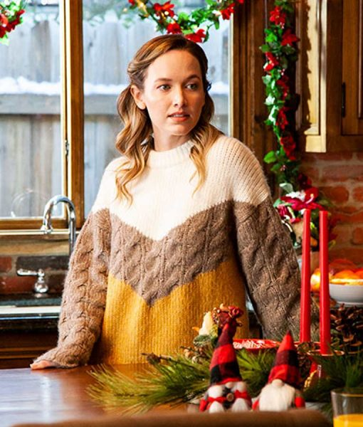 Natalie Hall A Very Charming Christmas Town Sweater