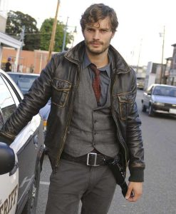 Once Upon a Time Sheriff Graham Humbert Leather Jacket