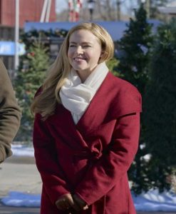 Amanda Schull Project Christmas Wish Lucy Red Coat