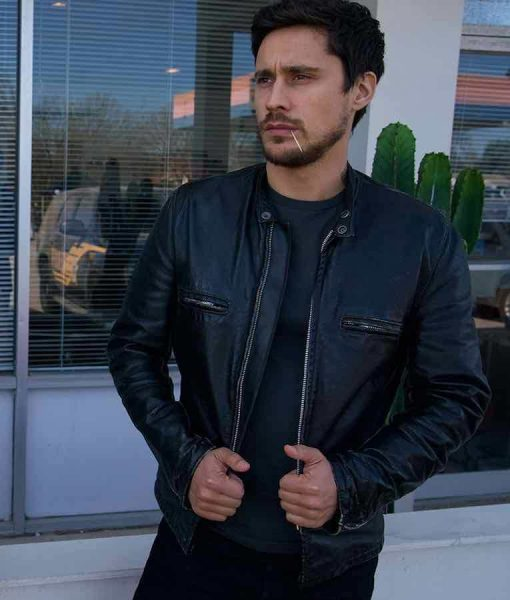 Queen Of The South James Valdez Leather Jacket