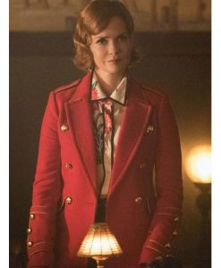 Penelope Blossom Riverdale SO5 Nathalie Boltt Trench Coat