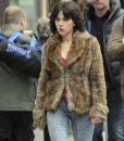 Scarlett Johansson Under The Skin Fur Jacket