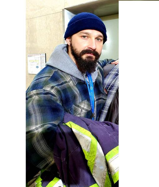 Shia LaBeouf Pieces of a Woman Plaid Jacket