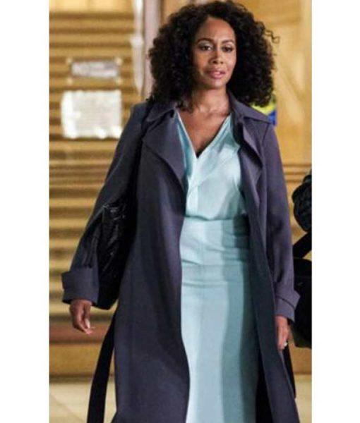 Simone Missick All Rise Lola Carmichael Long Coat