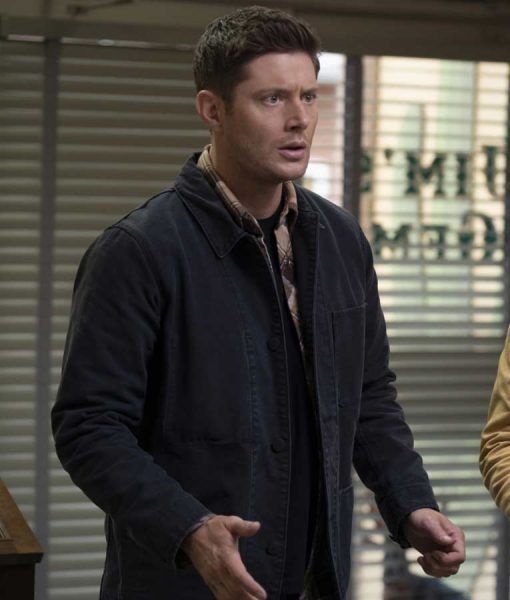 Supernatural Dean Winchester Season 15 Black Jacket