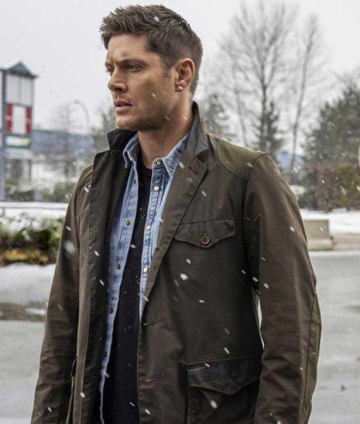 Jensen Ackles Supernatural Season 15 Dean Winchester Jacket