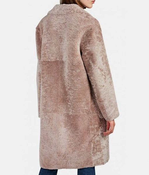 Sutton Foster Younger S06 Shearling Coat