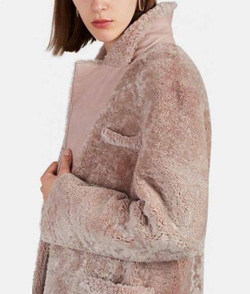 Younger S06 Liza Miller Shearling Coat