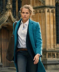 A Discovery of Witches Diana Bishop Blue Trench Coat