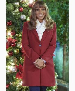 The Christmas Doctor Dr. Zoey Woolen Coat