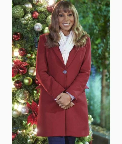 The Christmas Doctor Dr. Zoey Coat
