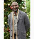 The Christmas Doctor Luke Mid-length Grey Coat
