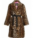 The Politician S02 Lucy Boynton Cheetah Print Coat