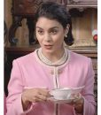 The Princess Switch Switched Again Vanessa Hudgens Pink Coat