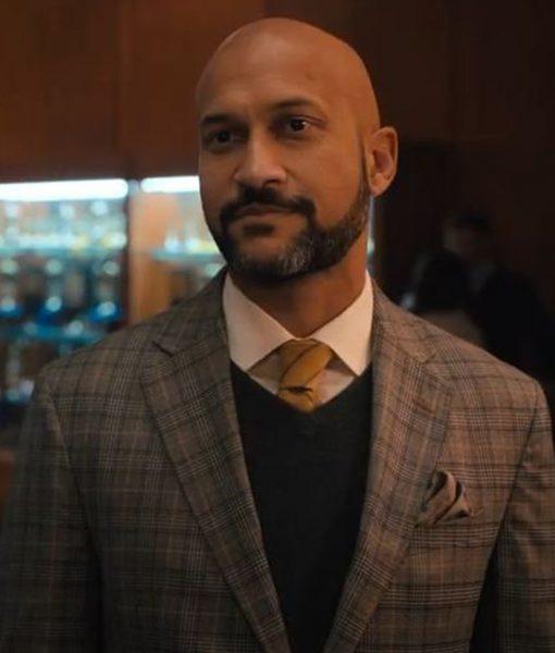 The Prom Mr. Hawkins Checkered Coat
