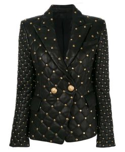 The Real Housewives of Salt Lake City Mary Cosby Black Studded Blazer