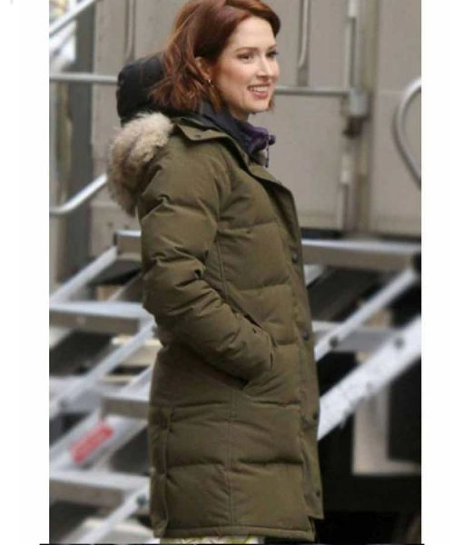 The Stand-In Ellie Kemper Parka Jacket