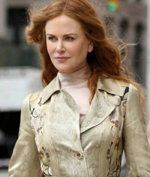 Grace Fraser The Undoing Nicole Kidman Floral Trench Coat