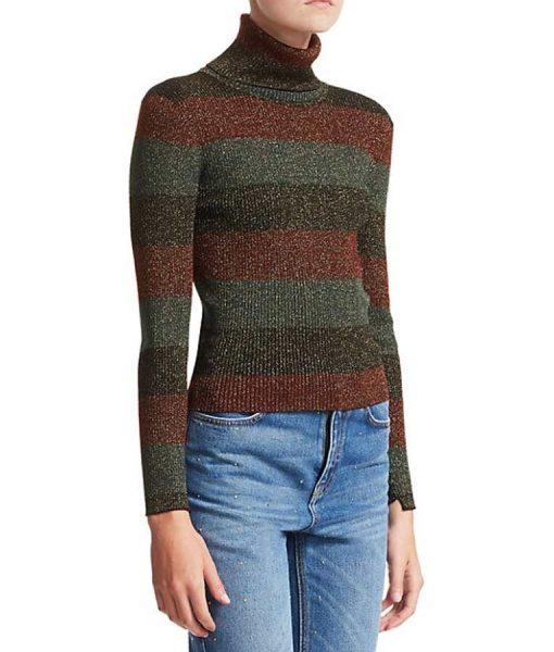 The Undoing Nicole Kidman Stripe Sweater