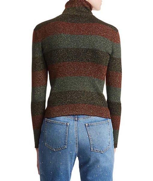 The Undoing Nicole Kidman Turtleneck Stripe Sweater