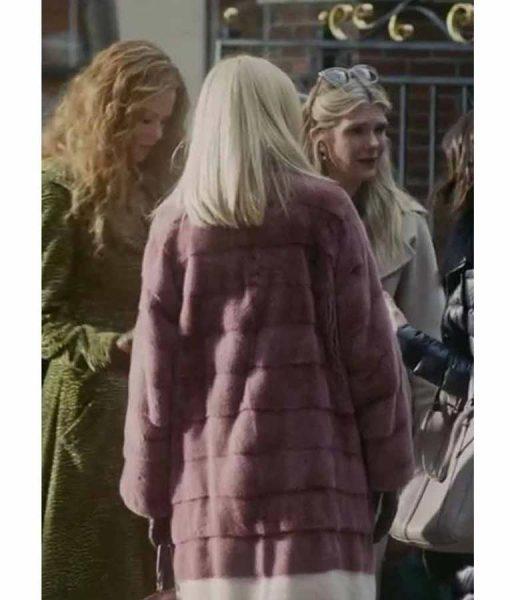 Sally Morrison The Undoing Janel Moloney Shearling Coat