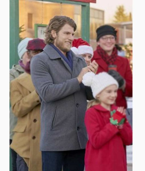Project Christmas Wish Lucas Grey Coat