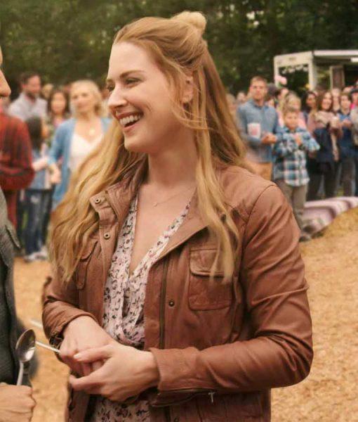 Virgin River S02 Melinda Monroe Leather Jacket