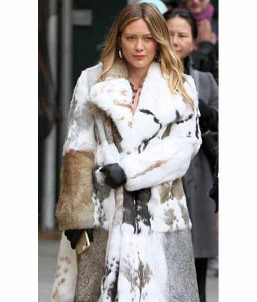 Younger Season 7 Hilary Duff Fur Coat