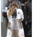 Younger Hilary Duff Season 7 Fur Mixed Coat