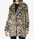 Younger S06 Lauren Heller Cheetah Print Fur Coat