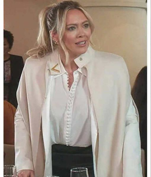 Younger S07 Kelsey Peters Beige Cape Coat