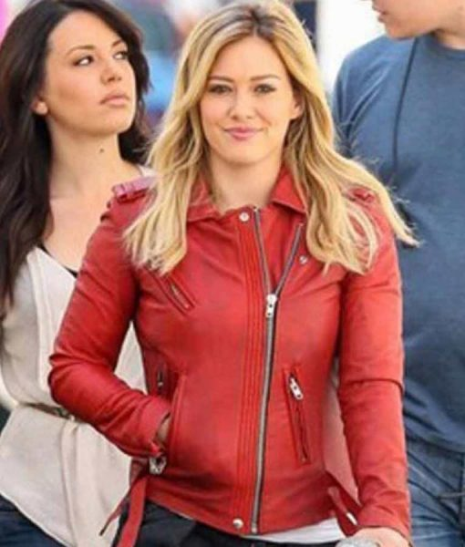 Younger S07 Hilary Duff Red Jacket