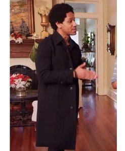 Mustapha J. Slack A Christmas Surprise Amiri Trench Coat