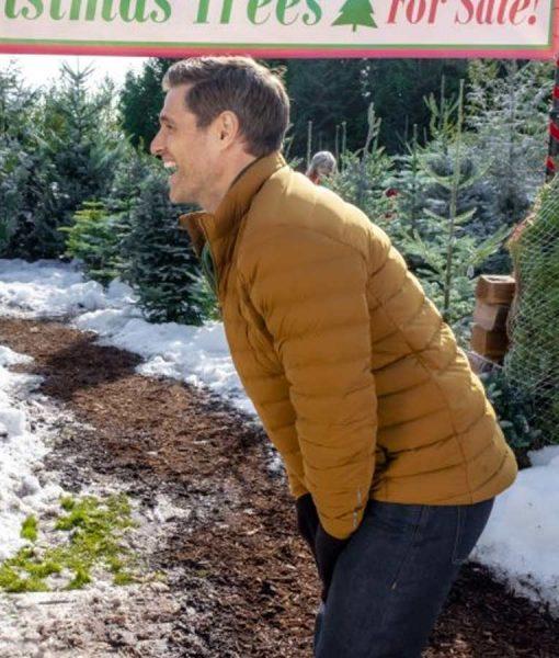 Sam Page A Godwink Christmas Second Chance First Love Puffer Jacket