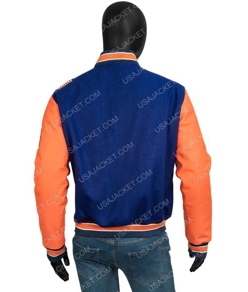 Coming 2 America 2021 Eddie Murphy Varsity Jacket With Patches