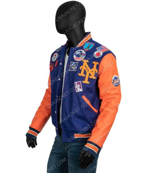 Akeem Coming 2 America 2021 Eddie Murphy Letterman Jacket