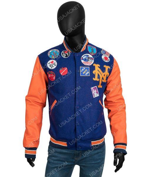 Akeem Coming 2 America 2021 Eddie Murphy patched jacket