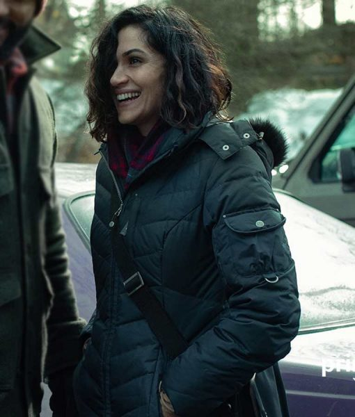 American Gods Season 03 Laura Moon Coat Withr Hood