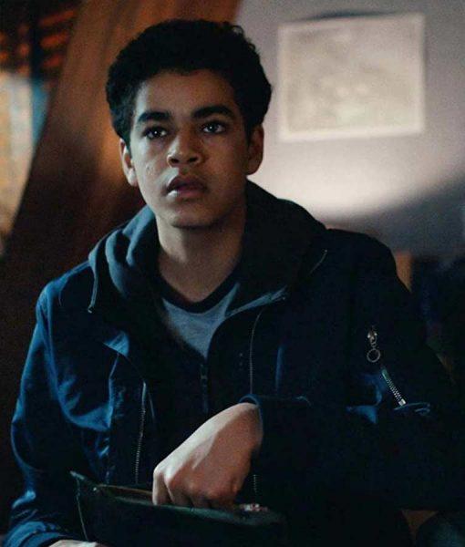 Amir Wilson His Dark Materials Will Parry Blue Jacket