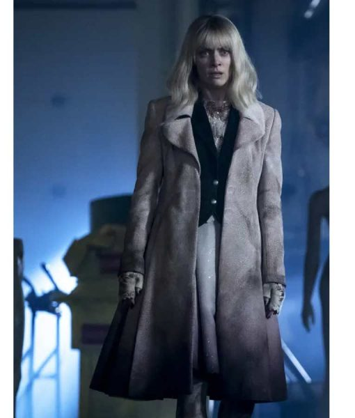 Batwoman S02 Beth Kane Suede Leather Coat