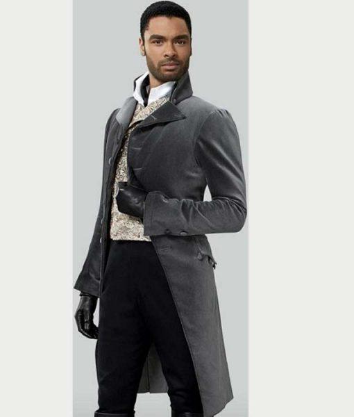 Bridgerton Simon Basset Grey Tailcoat