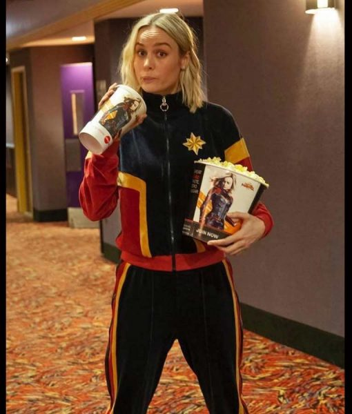Brie Larson Theater Tracksuit