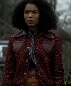 Chilling Adventures of Sabrina Jaz Sinclair Bomber Jacket